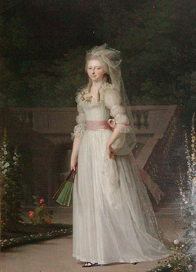 Jens Juel Louise Auguste of Denmark oil painting image
