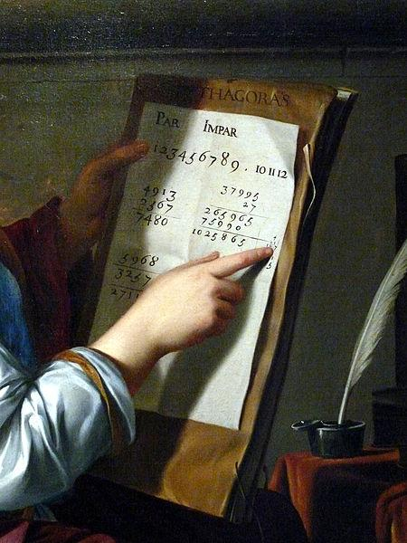 Laurent de la Hyre Allegory of Arithmetic oil painting image