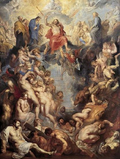Peter Paul Rubens Great Last Judgement by oil painting image