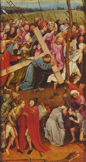 Hieronymus Bosch Christ Carrying the Cross oil painting image