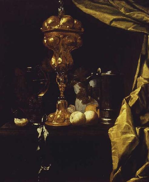 COUWENBERGH, Christiaen van Still Life with a Silver Gilt Cup oil painting image