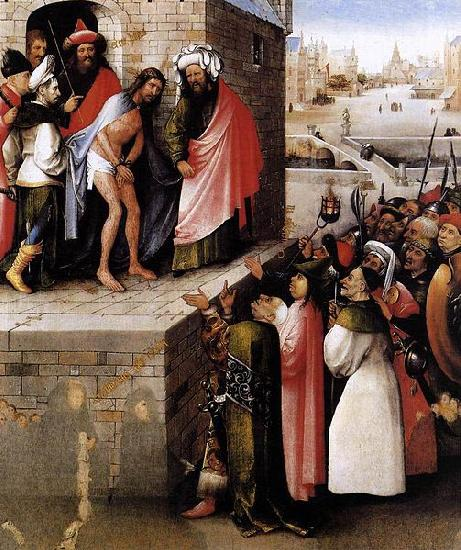 Hieronymus Bosch Ecce Homo. oil painting image