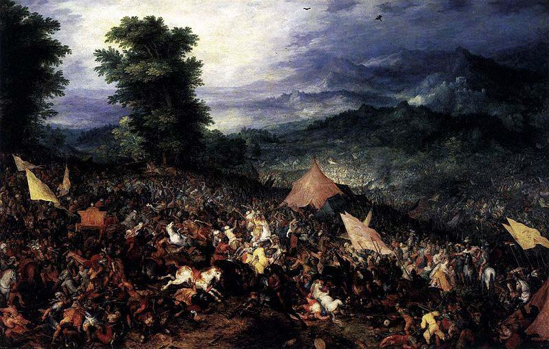 Jan Brueghel The Battle of Issus oil painting picture
