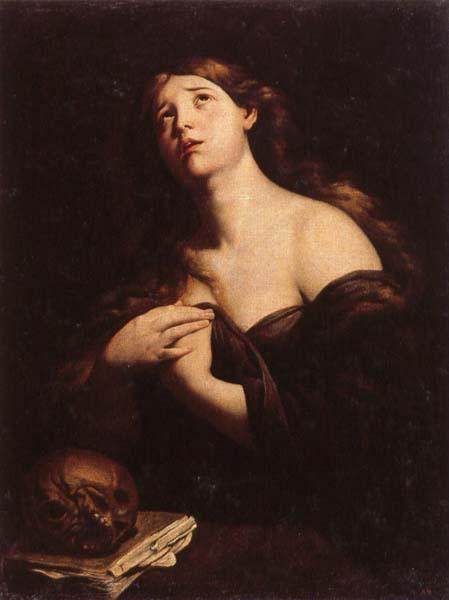 Andrea Vaccaro Penitent Mary Magdalen oil painting image