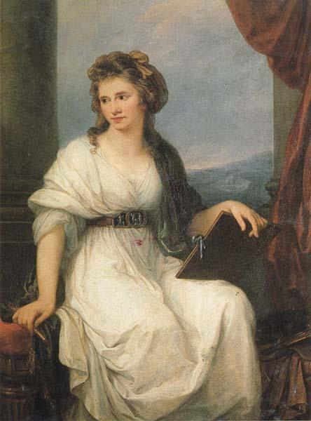 Angelica Kauffmann Self-Portrait oil painting image