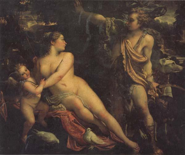 Annibale Carracci Venus and Adonis oil painting image