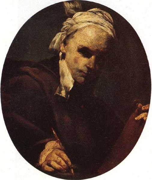 CRESPI, Giuseppe Maria Self-Portrait oil painting image
