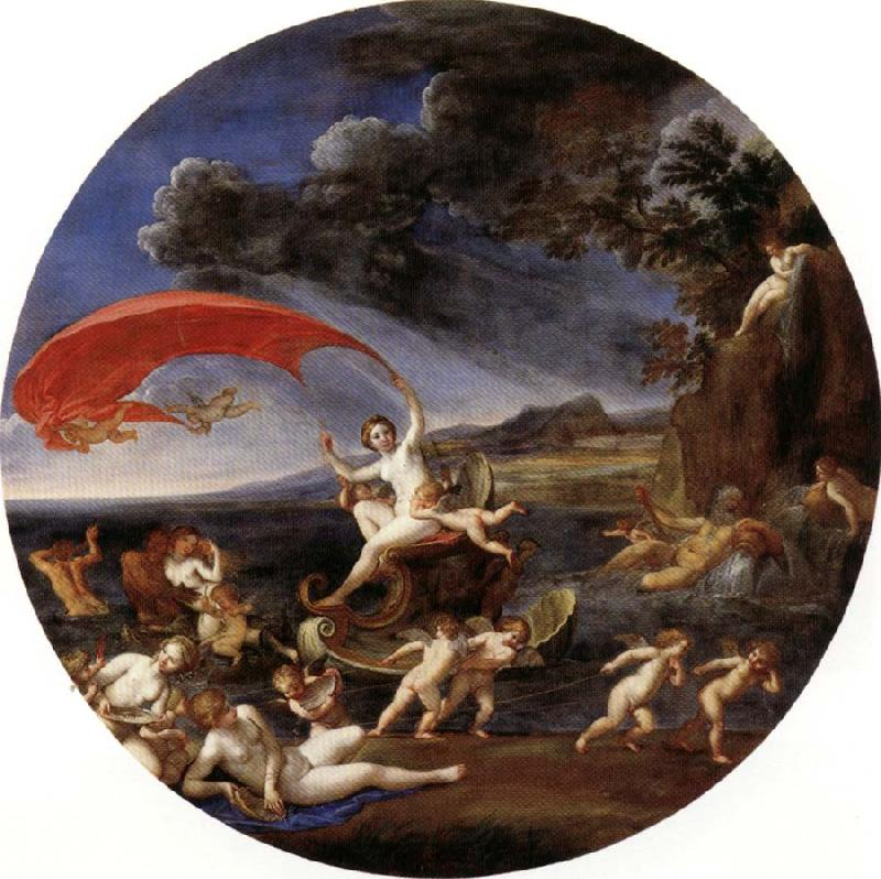 Albani Francesco Allegory of Water,from The Four Elements oil painting image