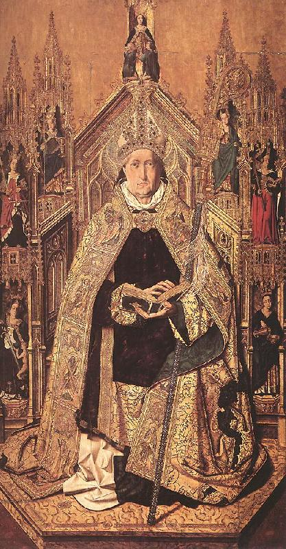 Bartolome Bermejo St Dominic Enthroned in Glory oil painting image