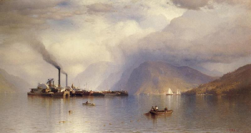 Colman Samuel Storm King on the Hudson oil painting image