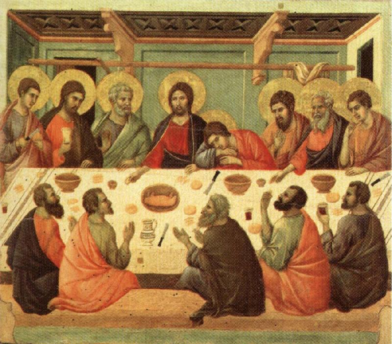 Duccio di Buoninsegna Last Supper oil painting image