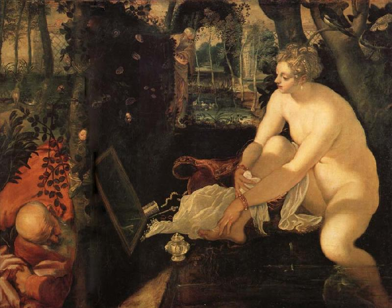 Tintoretto Susanna and the Elders oil painting image