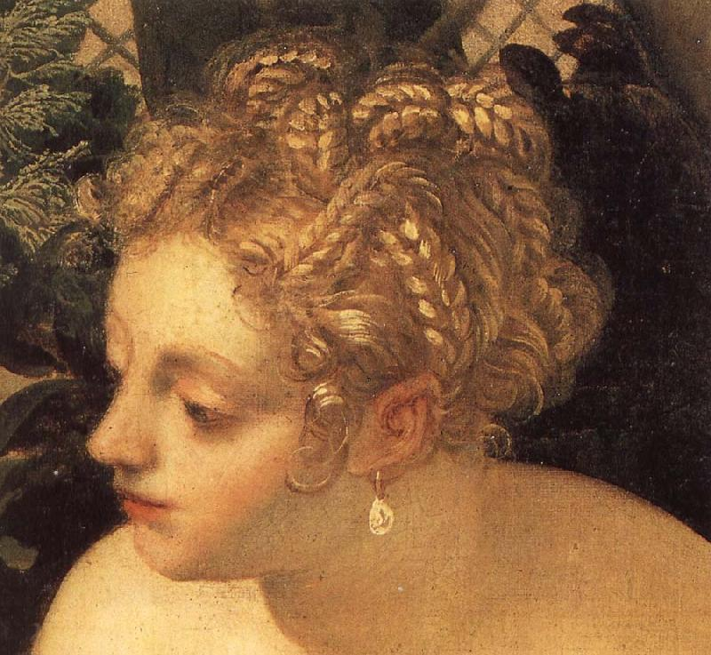 Tintoretto Details of Susanna and the Elders oil painting image