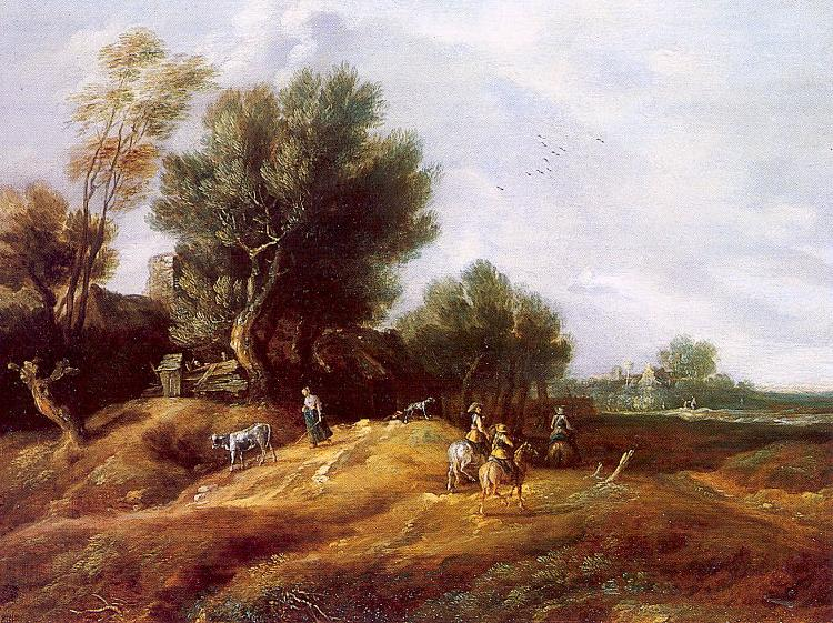 Peeters, Gilles Landscape with Dunes oil painting image