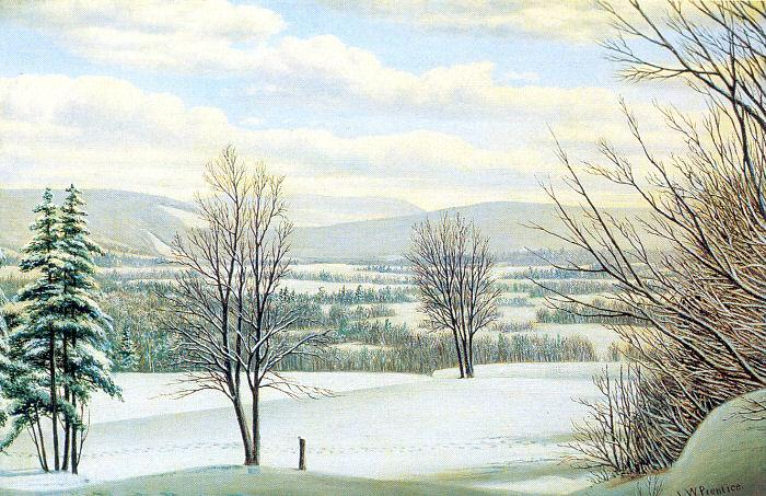 Prentice, Levi Wells Near Lake Placid, Andirondack Mountains, New York oil painting image