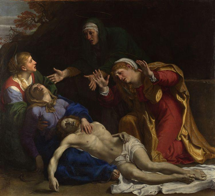 Annibale Carracci The Lamentation of Christ (mk08) oil painting image