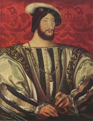Jean Clouet Portrait of Francis I,King of France (mk08) oil painting image