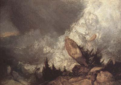 Joseph Mallord William Turner Avalanche in the Grisons (mk10) oil painting image
