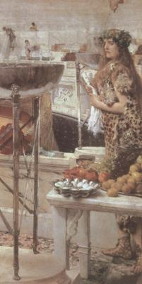 Alma-Tadema, Sir Lawrence Preparations in the Coliseum (mk23) oil painting image