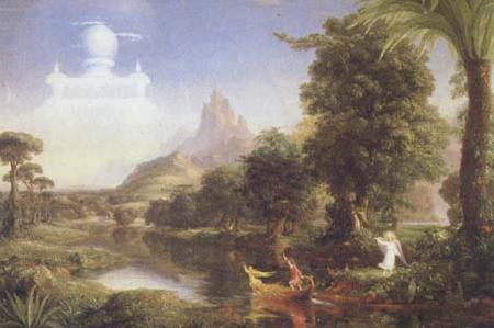 Thomas Cole The Ages of Life:Youth (mk13) oil painting image
