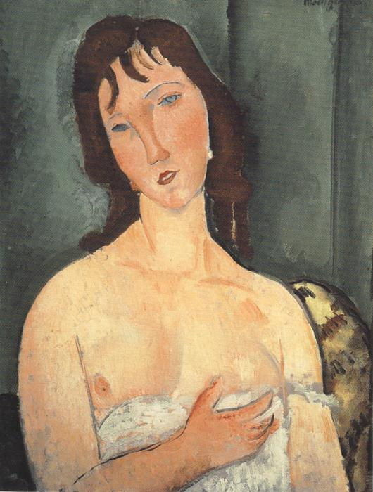 Amedeo Modigliani Portrait of a Young Woman (mk39) oil painting image