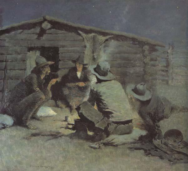 Frederic Remington Untitled (mk43) oil painting image