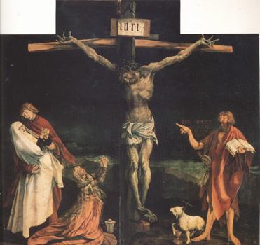 Matthias  Grunewald The Crucifixion (nn03) oil painting picture