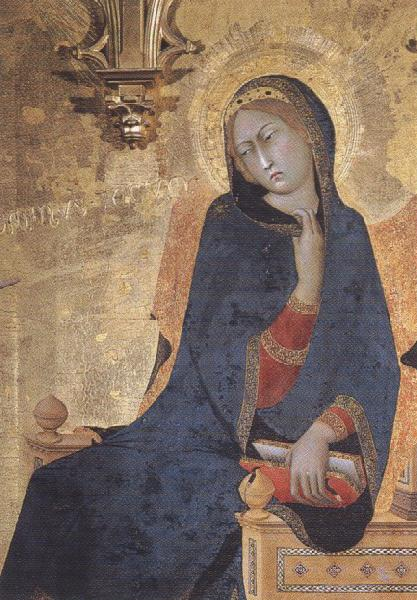 Simone Martini Annunciation (mk39) oil painting image