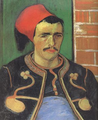 Vincent Van Gogh The Zouave (nn04) oil painting image