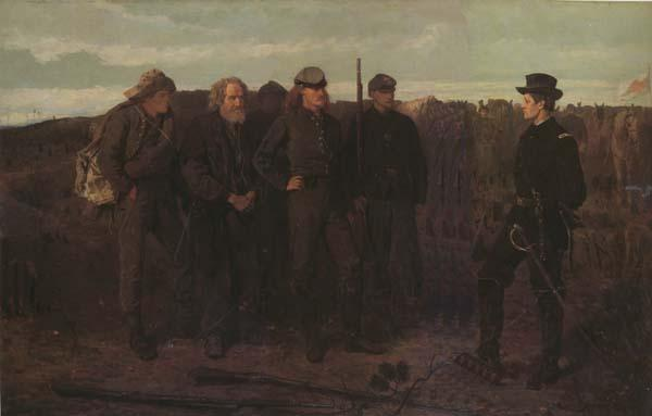 Winslow Homer Prisoners from the Front (mk44) oil painting image
