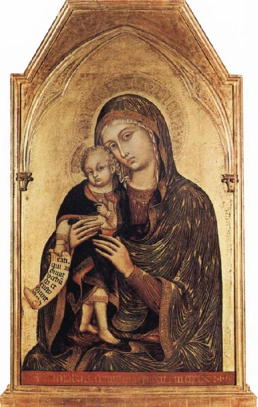 Barnaba Da Modena Madonna and Child oil painting image