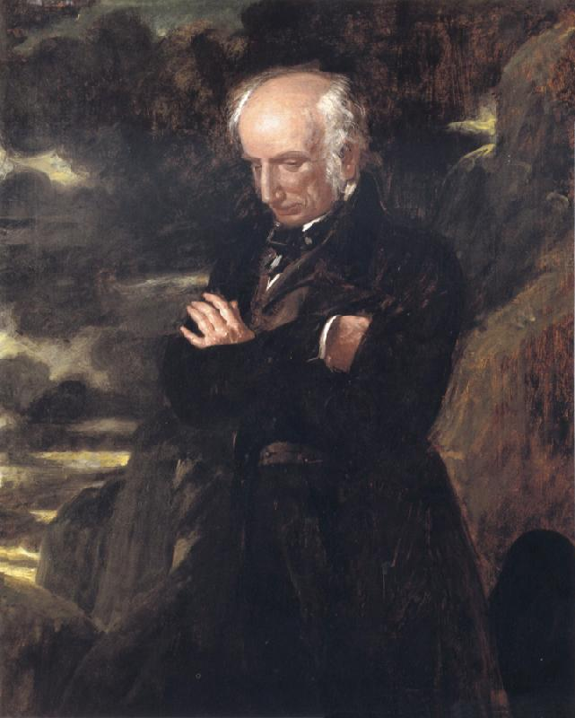 Benjamin Robert Haydon William Wordsworth oil painting image