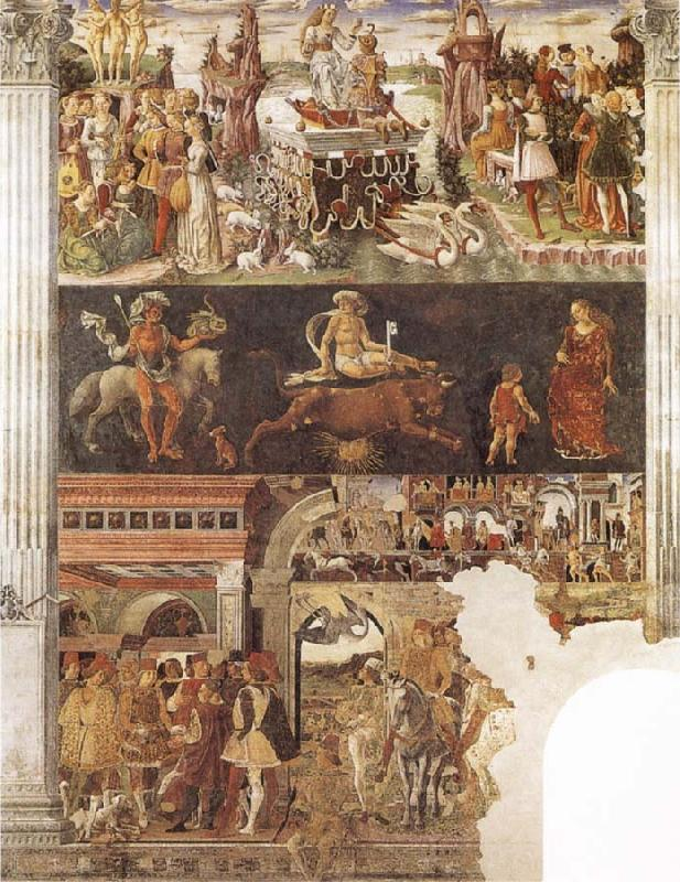 Francesco del Cossa Allegory of the Month of April oil painting image