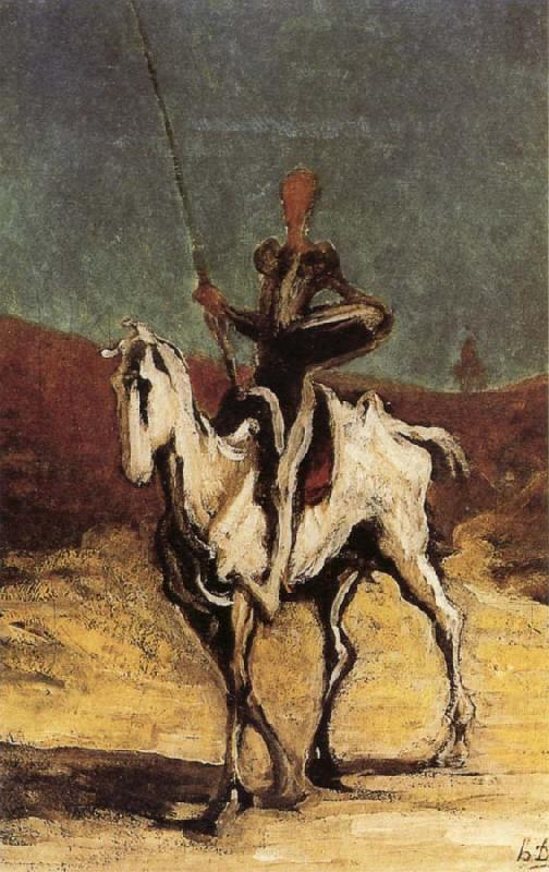 Honore Daumier Don Quixote oil painting image
