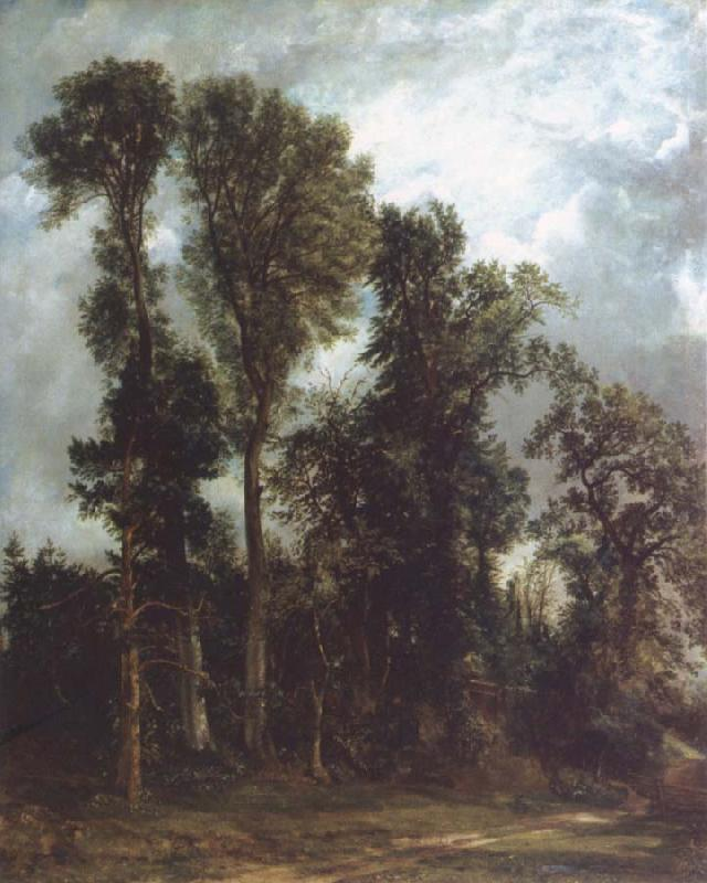 John Constable The path to the church oil painting image
