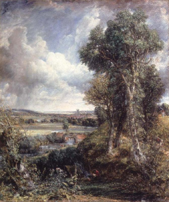 John Constable The Vale of Dedham oil painting image
